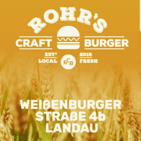 Rohr's Craft Burger  Logo